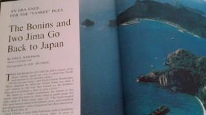 Ancestral Links to the Bonin Islands