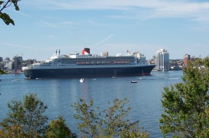 Queen Mary 2, 148,428 Gross Tonnage